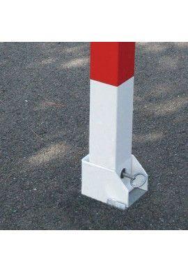 Poteau pompier rabattable 70x70 mm