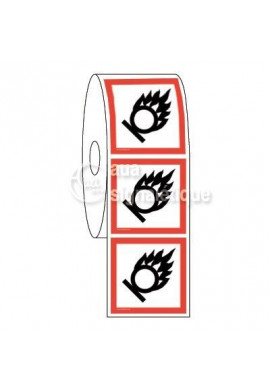 Etiquettes en Bobine - Produits comburants