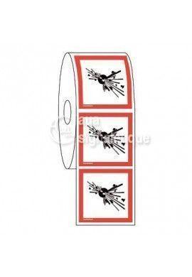 Étiquettes en Bobine - Produits Explosifs