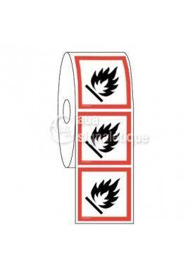 Étiquettes en Bobine - Produits Inflammables