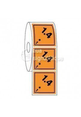 Étiquettes en Bobine - N°1-4 Explosif
