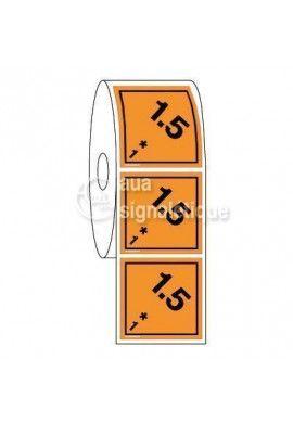 Étiquettes en Bobine - N°1-5 Explosif