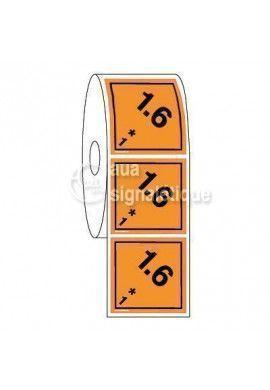 Étiquettes en Bobine - N°1-6 Explosif