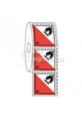 Étiquettes en Bobine - N°4-2 Auto-Inflammables