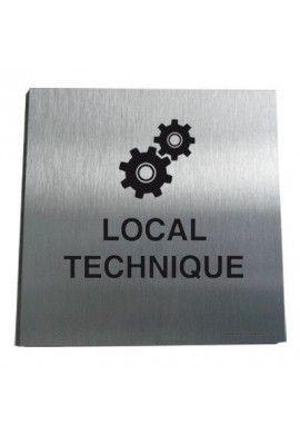 Plaque Alu Brossé Local Techniques 02