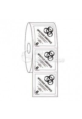 Étiquettes en Bobine - N°6-2 Susceptible De Produire Une Infection