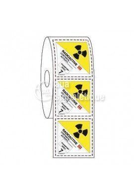 Étiquettes en Bobine - N°7C Radioactive