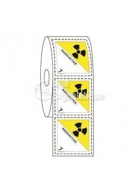Étiquettes en Bobine - N°7 Radioactive