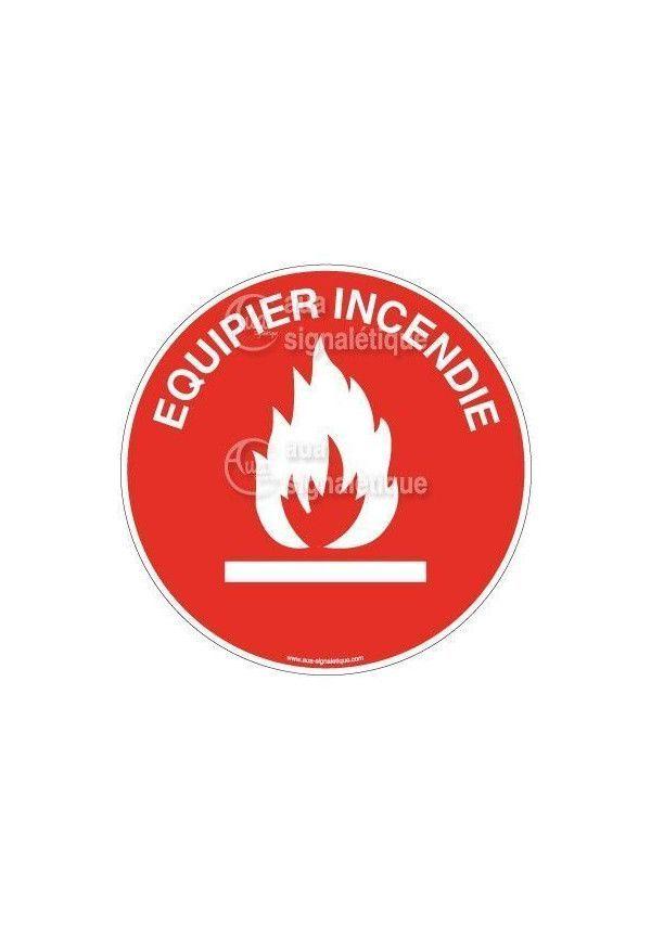 Etiquettes Equipier Incendie