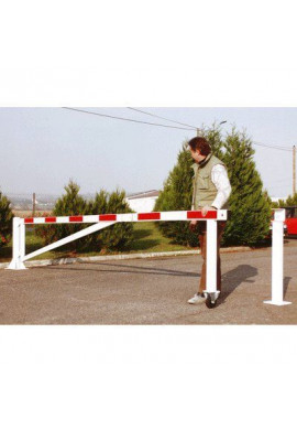 Barrières tournantes à support roulette