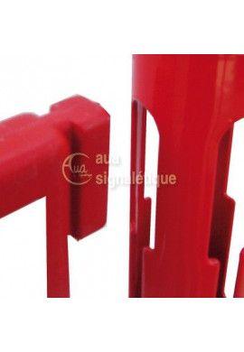Kit barrière avec poteaux PVC
