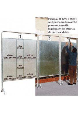 Panneaux électoraux Ø 35