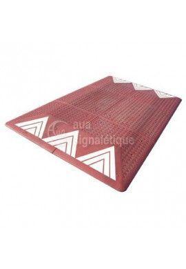 Coussin berlinois 6 éléments - Rouge - 2000mm