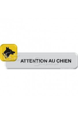 Autocollant VINYLO -  Attention au chien
