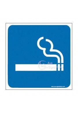 Plaque de porte Zone Fumeur