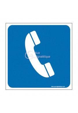 Plaque de porte Téléphone