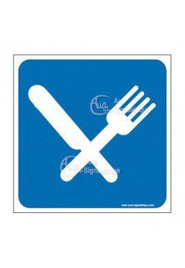 Plaque de porte Restaurant