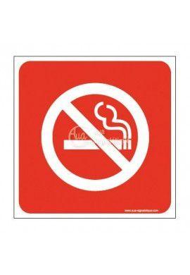 Plaque de porte Interdit de Fumer