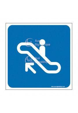 Plaque de porte Escalator 01