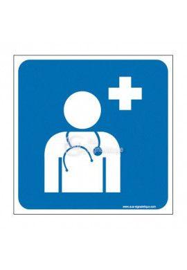 Plaque de porte Médecin