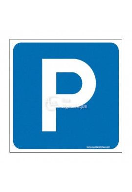 Plaque de porte Parking