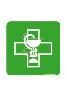 Plaque de porte Pharmacie