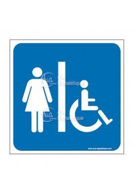 Aua signaletique fabricant signal tique et signalisation - Plaque de porte wc design ...