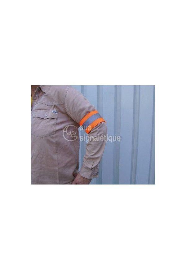 Brassard de sécurité - Orange