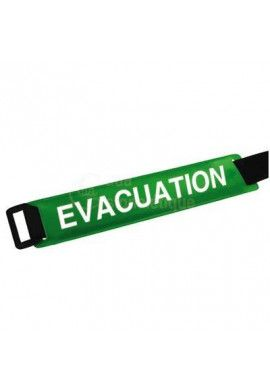 Brassard scratch ajustable - Evacuation