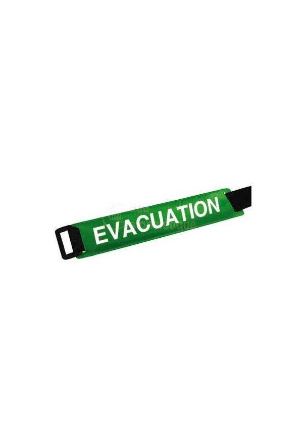 Brassard scratch ajustable - Evacuation