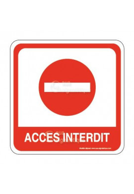 Accès Interdit PvcSign