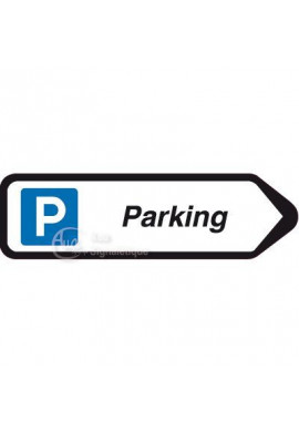 Panneau directionnel Flèche Parking