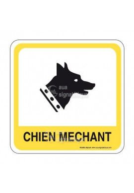 Attention au chien PvcSign