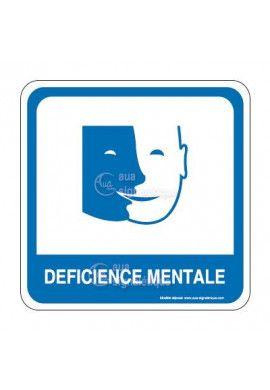 Déficience mentale PvcSign