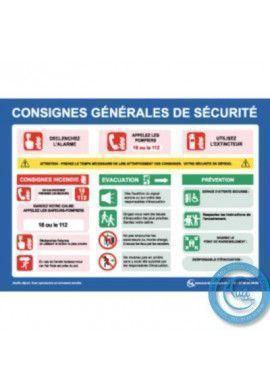 Consignes Générales de Sécurité - H