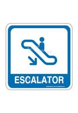 Escalator 02 PvcSign
