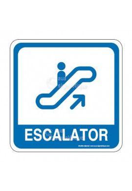 Escalator 03 PvcSign