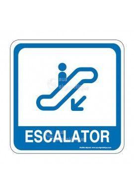 Escalator 04 PvcSign