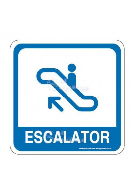 Escalator 01 PvcSign