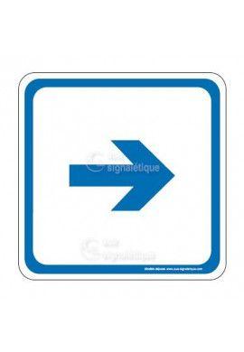 Flèche droite PvcSign