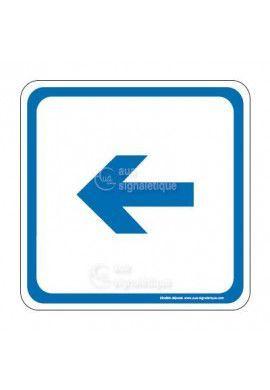 Flèche gauche PvcSign