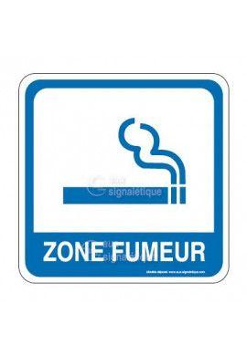 Zone fumeur PvcSign