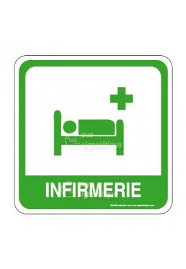Infirmerie PvcSign