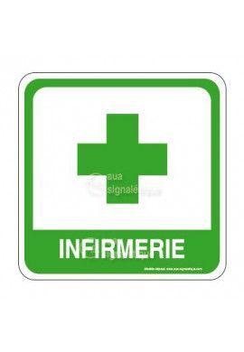 Infirmerie Croix PvcSign