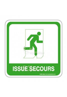 Issue de secours PvcSign