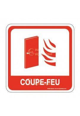 Porte Coupe-Feu PvcSign