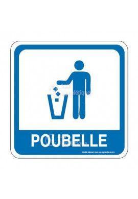 Poubelle PvcSign