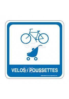 Vélos poussettes PvcSign