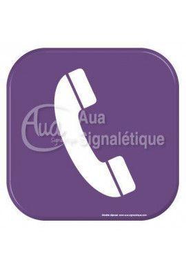 Autocollant Vinylopicto téléphone
