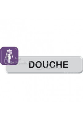 Autocollant VINYLO - Douche